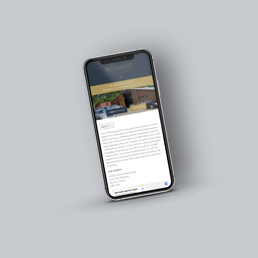 Charly Anderson   Besthorpe Motor Company - Bespoke Wordpress Development