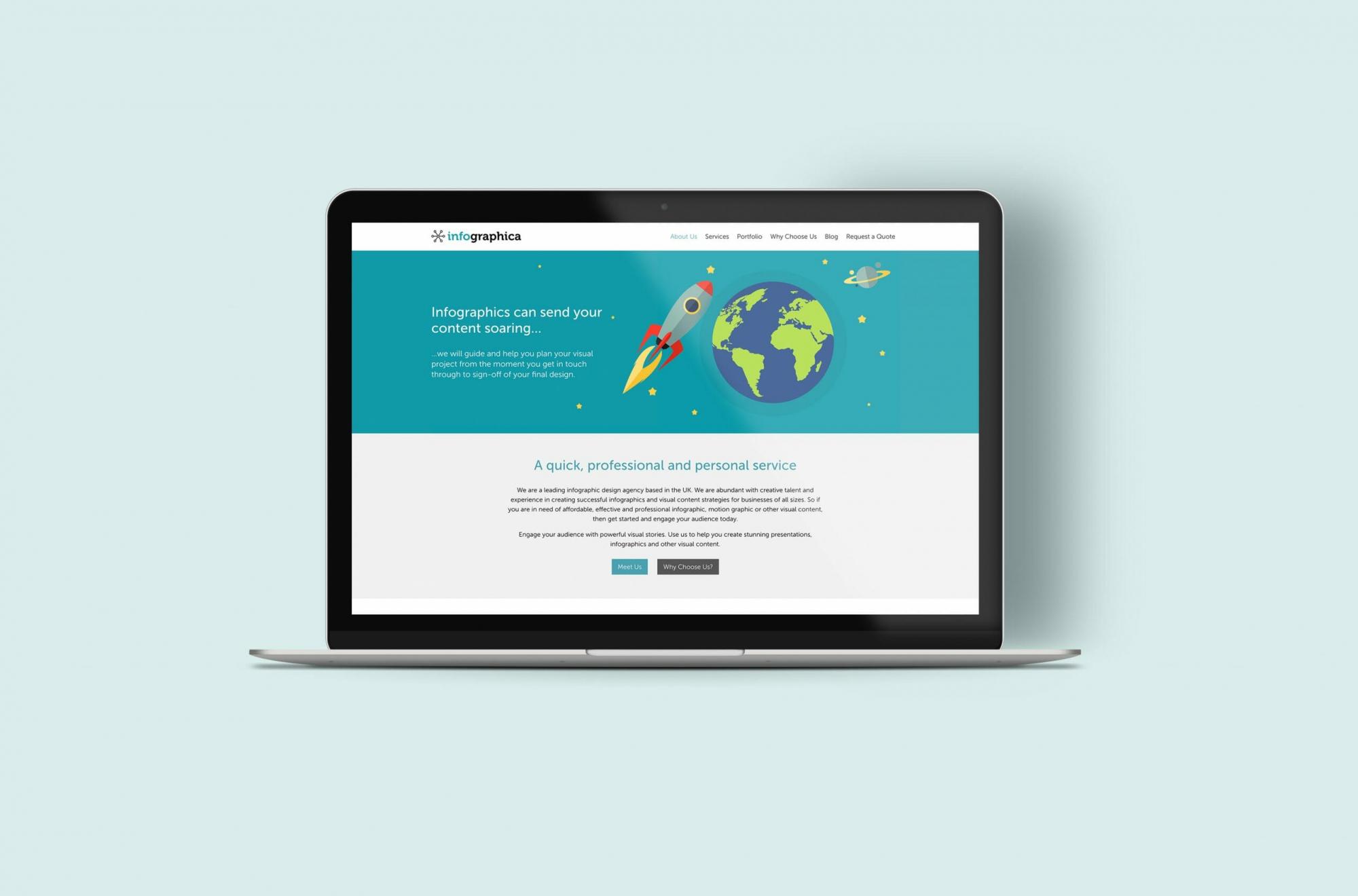 Charly Anderson | Infographica - Bespoke Wordpress Development